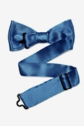 Navy Blue Bow Tie For Boys
