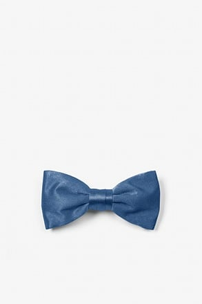 Navy Blue Bow Tie For Infants