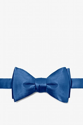 Navy Blue Butterfly Bow Tie