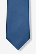 Navy Blue Extra Long Tie Photo (4)