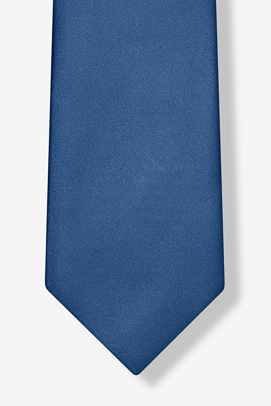 Navy Blue Extra Long Tie