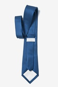 Navy Blue Extra Long Tie Photo (2)