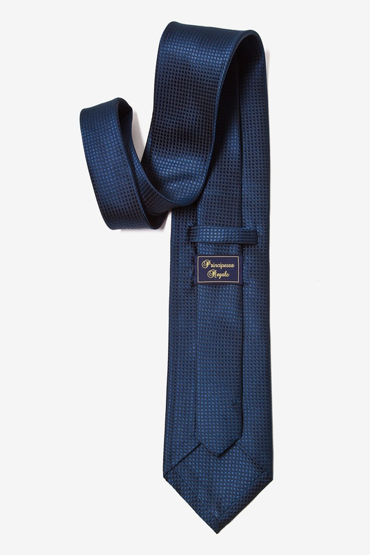 Navy Blue Revitalize Extra Long Tie