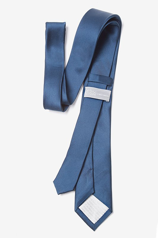Navy Blue Tie For Boys Photo (2)