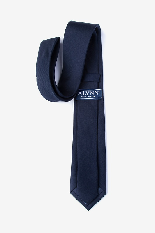 Navy Blue Tie For Boys Photo (1)