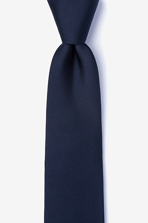 _Navy Blue Tie For Boys_