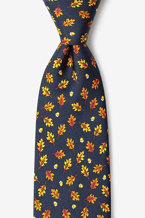 Oak Leaves Tie