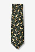 Partridge In A Pear Tree Navy Blue Tie Photo (1)