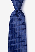 Pearch Navy Blue Tie Photo (0)