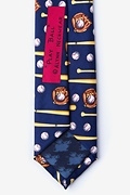 Play Ball Navy Blue Skinny Tie Photo (2)