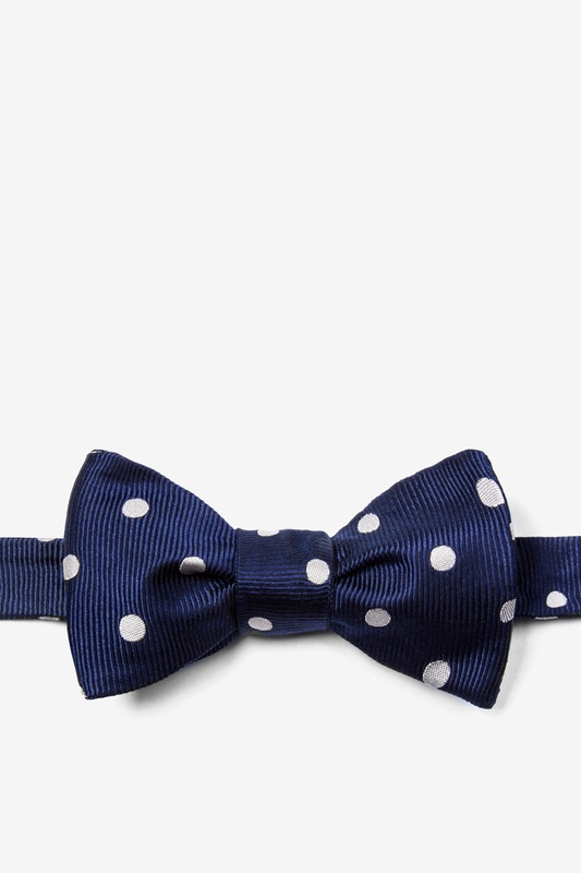 Polka Dot Self-Tie Bow Tie Photo (0)
