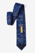 School of Fish Navy Blue Tie Photo (1)