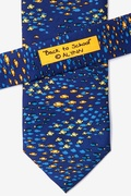School of Fish Navy Blue Tie Photo (2)