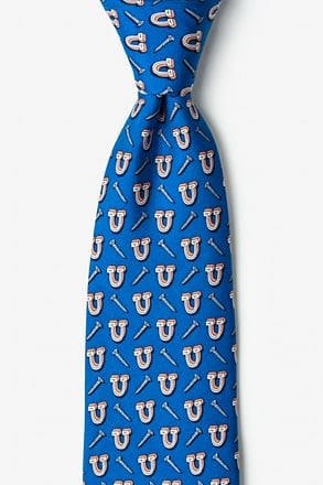 _Screw U Navy Blue Tie_