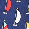 Navy Blue Silk Seas the Day Tie