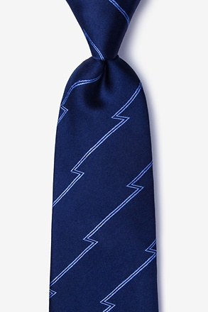 _Smoky Navy Blue Tie_