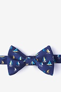Navy Blue Silk Smooth Sailing
