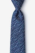 Navy Blue Silk Sri Lanka Extra Long Tie