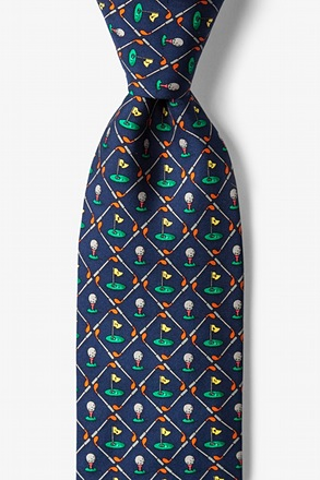 Tee it Up Navy Blue Tie