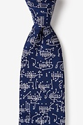 Navy Blue Silk The Art of the Game Extra Long Tie