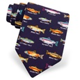 Trout Family Tie by Alynn Novelty