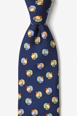 Turkeys Navy Blue Tie