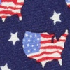 Navy Blue Silk U! S! A!
