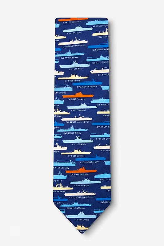 U.S. Aircraft Carriers Tie Photo (1)