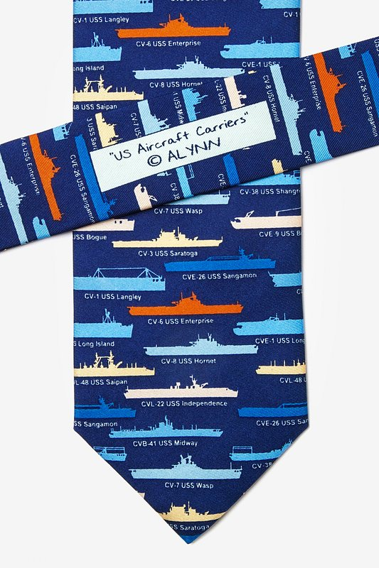 U.S. Aircraft Carriers Tie Photo (2)