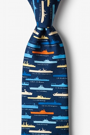 _U.S. Aircraft Carriers Tie_