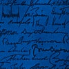 Navy Blue Silk U.S. Presidential Signatures