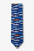 US Aircraft Carriers Tie by Alynn Novelty