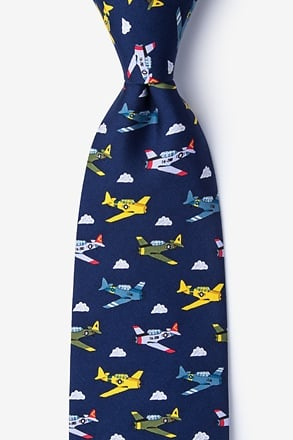 _Warbirds Navy Blue Tie_