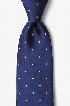 _Wherefore Heart Thou Navy Blue Tie_