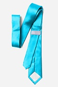 "Neon Blue (Electric Blue) 3"" Skinny Tie"