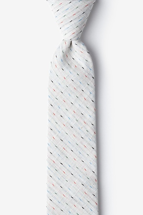 Off White Pennington Dash Skinny Tie