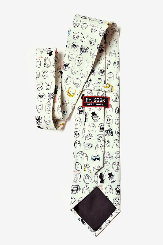Rage Face Off White Tie