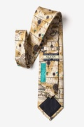 Ancient Art of Portugal Map Tie Photo (1)