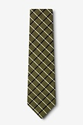 Tuscon Olive Extra Long Tie Photo (1)