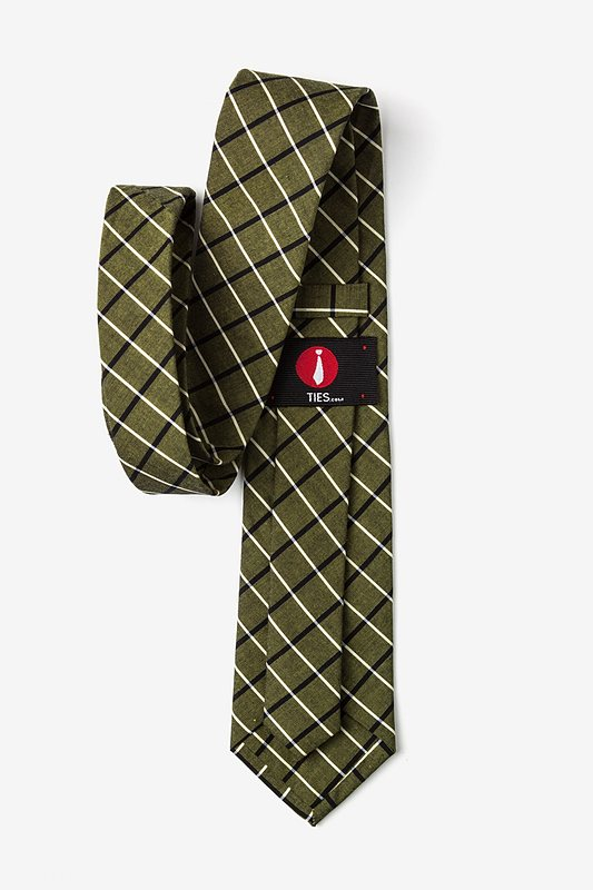 Tuscon Olive Extra Long Tie Photo (2)