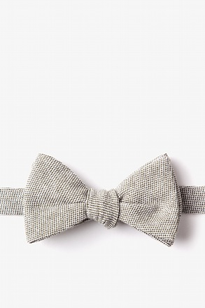 _Westminster Olive Self-Tie Bow Tie_