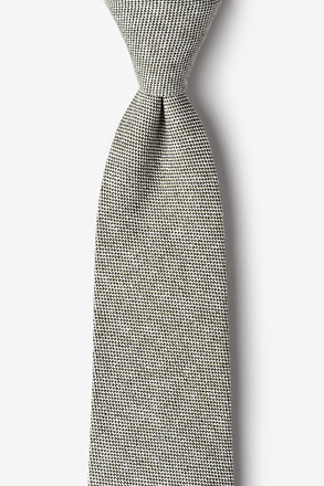 Westminster Olive Tie