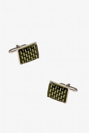 Big Rectangular 3D Cufflinks