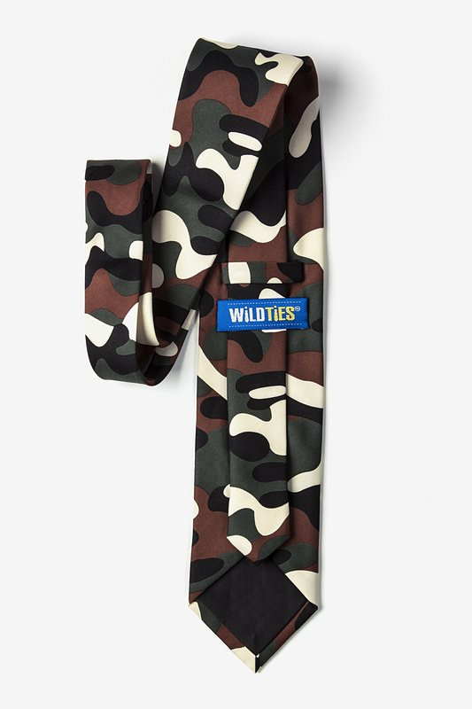 Camouflage Extra Long Tie Photo (1)