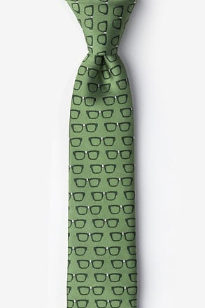 Four Eyes Skinny Tie