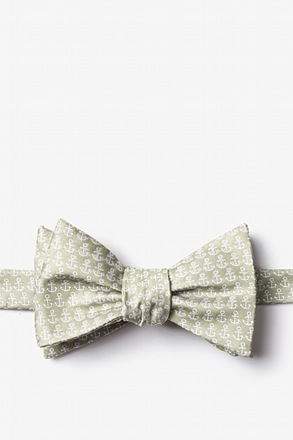 Small Anchors Bow Tie
