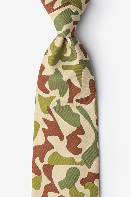 Street Camo Extra Long Tie Photo (0)
