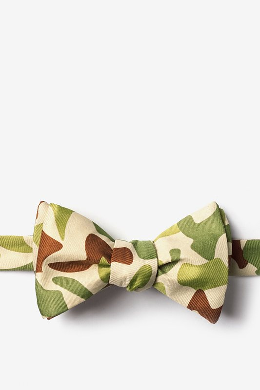 Street Camo Self-Tie Bow Tie Photo (0)