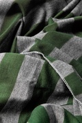 Mens Caravan Stripe Olive Scarf Photo (2)
