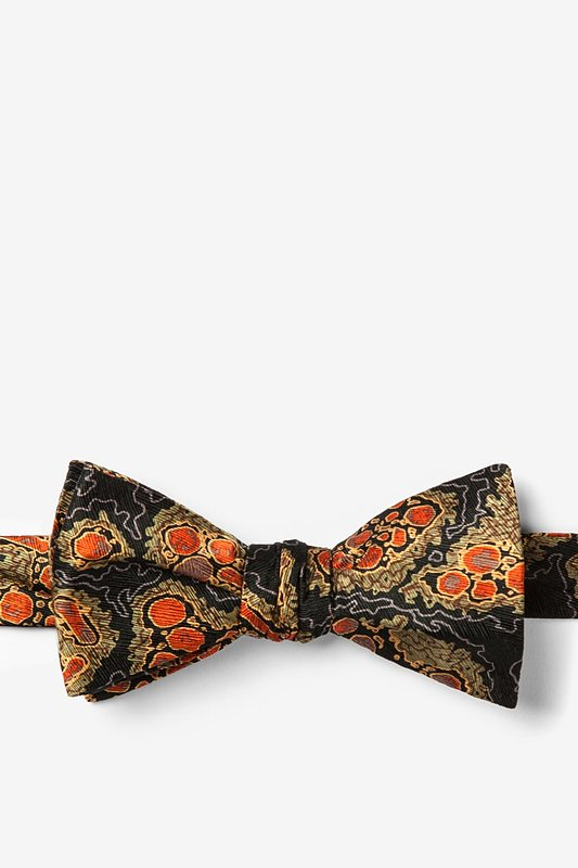 Hepatitis B Olive Self-Tie Bow Tie
